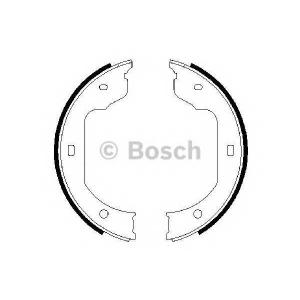 BOSCH 0 986 487 625 Тормозные колодки барабан (пр-во Bosch)
