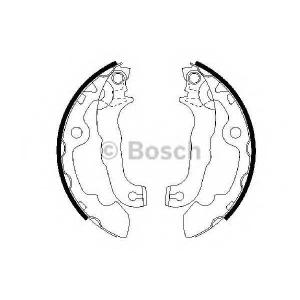 BOSCH 0986487633 Колодки гальмівні барабанні