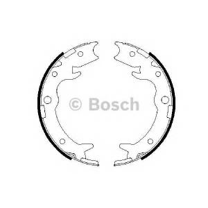 BOSCH 0986487686 Гальмівні колодки барабанні  HONDA Legend/Shuttle