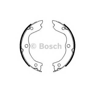 BOSCH 0 986 487 698 Комплект тормозных колодок, стояночная тормозная система