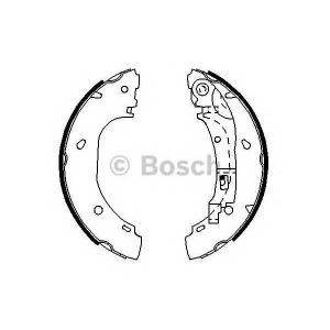 BOSCH 0986487701 Гальмівні колодки барабанні CITROEN Jumper-04/FIAT Ducato -06/PEUGEOT Boxer-02