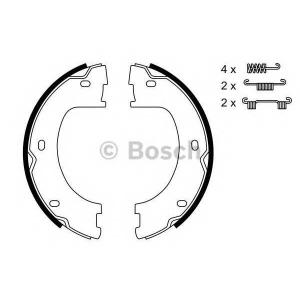 BOSCH 0 986 487 751 Комплект тормозных колодок, стояночная тормозная система