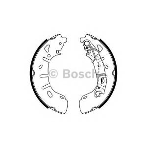 0986487773 bosch Комплект тормозных колодок FIAT DOBLO Cargo фургон/универсал 1.6 D Multijet