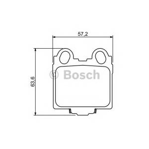 BOSCH 0986494231 Гальмівні колодки дискові LEXUS GS,IS,SC 97-