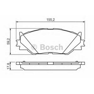 �������� ��������� �������, �������� ������ 0986494316 bosch - LEXUS IS II (GSE2_, ALE2_, USE2_) ����� 250