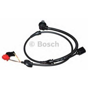Датчик, частота вращения колеса 0986594002 bosch - VW PASSAT (3B2) седан 1.6