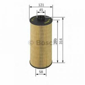 Масляный фильтр 1457429128 bosch - MERCEDES-BENZ ACTROS MP2 / MP3  1855, L, LL