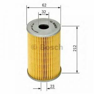 Масляный фильтр 1457429153 bosch - MERCEDES-BENZ SL (R129) кабрио 60  AMG (129.067)