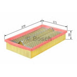 BOSCH 1457429783 Фильтр воздушный МВ (пр-во Bosch)