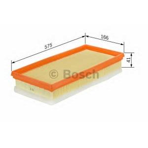 BOSCH 1 457 429 793 Фильтр воздушный BMW 3 (E36), 5 (E39) 2.5tds (пр-во Bosch)