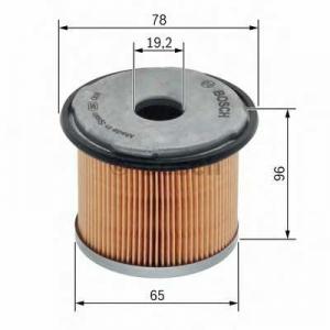 BOSCH 1457431720 Паливний фільтр 1720 OPEL/RENAULT Movano,Master,Trafic 1,9-2,5dCi 00-06