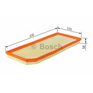 BOSCH 1457433065 Фильтр воздушный MERCEDES W203, W210 (пр-во Bosch)