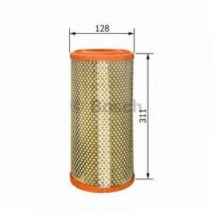 BOSCH 1457433231 Фильтр воздушный RENAULT 1,9-2,5D; JEEP 2,1D; CHRYSLER 2,5D (128*311) цилиндр