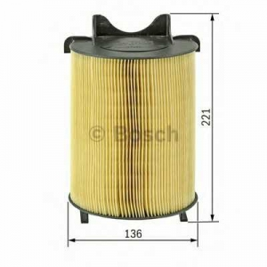 Воздушный фильтр 1457433576 bosch - AUDI A3 (8P1) Наклонная задняя часть 2.0 FSI