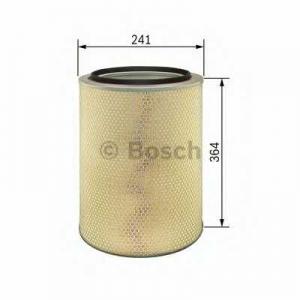 BOSCH 1457433651 Air filter