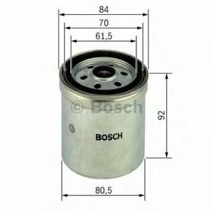 Топливный фильтр 1457434153 bosch - MERCEDES-BENZ 100 фургон (631) фургон D (631.332, 631.342)