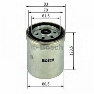 Топливный фильтр 1457434154 bosch - MAN G 90  8.170 FOC