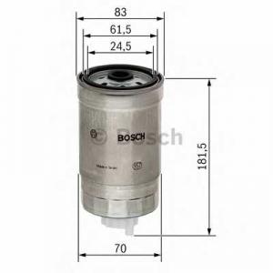 BOSCH 1457434184 Фільтр паливний