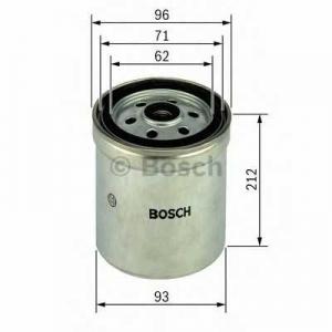 Топливный фильтр 1457434294 bosch - VOLVO FL 12  FL 12/380