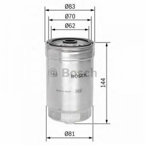 Топливный фильтр 1457434314 bosch - LANCIA LYBRA (839AX) седан 2.4 JTD (839AXL1A)