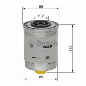 BOSCH 1457434408 Фильтр топл. FORD TRANSIT (пр-во Bosch)