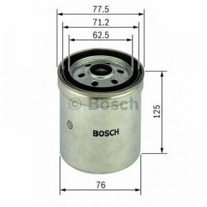 BOSCH 1457434432 Паливний фільтр 4432 IVECO EutoCargo,EuroStar,EuroTech 5,8-17,2 91-02