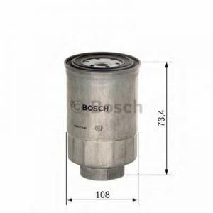 Топливный фильтр 1457434450 bosch - DODGE CARAVAN II вэн 2.5 TD