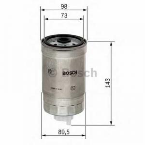 Топливный фильтр 1457434459 bosch - MITSUBISHI PAJERO III (V60, V70) Вездеход открытый 3.2 DI-D (V68W, V78W)