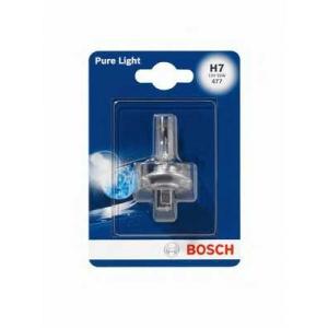 BOSCH 1 987 301 012 Лампа накаливания 12V 55W H7 PURE LIGHT (blister 1 шт) (пр-во Bosch)