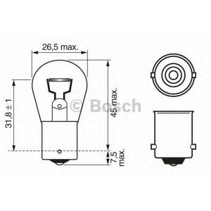 BOSCH 1987302201 Лампа P21W 12V21W