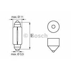 BOSCH 1987302225 Лампа STANDARD 5W 12V 225 кратн. 10 шт.