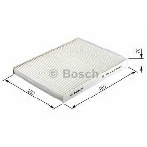 BOSCH 1 987 431 163 Фильтр салона MAN (пр-во Bosch)