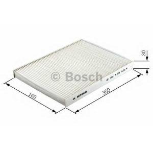 BOSCH 1987432045 Фильтр салона FORD FOCUS (пр-во Bosch)