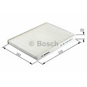 BOSCH 1 987 432 072 Фильтр салона FIAT (пр-во Bosch)