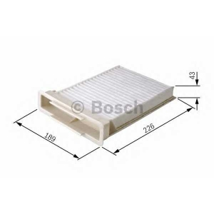 BOSCH 1987432120 Filter ,Air Cabin