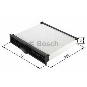 BOSCH 1 987 432 160 Фильтр салона (пр-во Bosch)