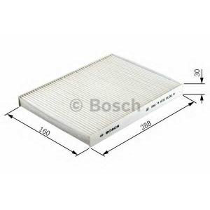 BOSCH 1987432303 Фильтр, воздух во внутренном пространстве