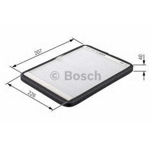 BOSCH 1 987 432 364 Фильтр салона MB M-CLASS угольный (пр-во Bosch)