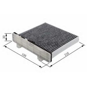 Фильтр, воздух во внутренном пространстве 1987432426 bosch - MITSUBISHI LANCER VI (CK/P_A) седан 2.0 16V EVO IV / V / VI / VII (CT9A)