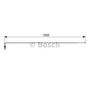 Сигнализатор, износ тормозных колодок 1987473001 bosch - BMW X3 (E83) вездеход закрытый 3.0 si