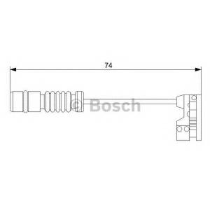 BOSCH 1987473008 Датчик гальмівний
