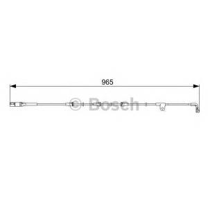 BOSCH 1987473027 Датчик зношування гальм. колодок BMW E70