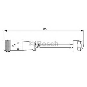 Сигнализатор, износ тормозных колодок 1987473038 bosch - MERCEDES-BENZ SPRINTER 5-t c бортовой платформой/ходовая часть (906) c бортовой платформой/ходовая часть 513 CDI 4x4 (906.135, 906.155, 906.253, 906.255)
