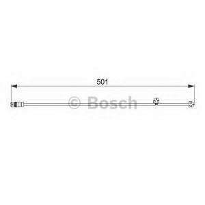 1987474556 bosch Сигнализатор, износ тормозных колодок PORSCHE 911 купе 3.6 Turbo 4