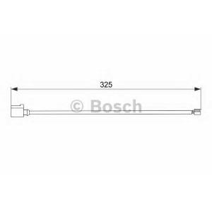 BOSCH 1987474567 Датчик зношування гальм. колодок VW Touareg ''F ''3.0-4.2 ''10>>