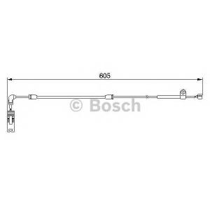 Сигнализатор, износ тормозных колодок 1987474943 bosch - BMW 3 (E46) седан 320 d