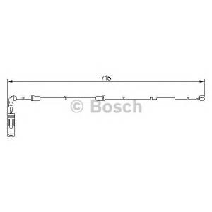 Сигнализатор, износ тормозных колодок 1987474946 bosch - BMW X5 (E53) вездеход закрытый 4.4 i