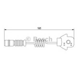 BOSCH 1987474963 Сигнализатор, износ тормозных колодок