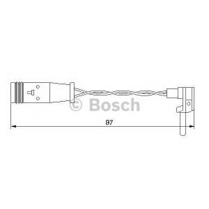 BOSCH 1987474966 Датчик зношування гальм. колодок
