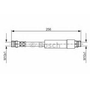 BOSCH 1 987 476 284 Тормозной шланг (пр-во Bosch)